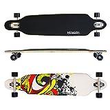 Hengda Longboard Ridge Street Board Cruiserboard Skateboard Komplettboard ABEC Kugellager