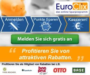 Cashback mit Euroclix