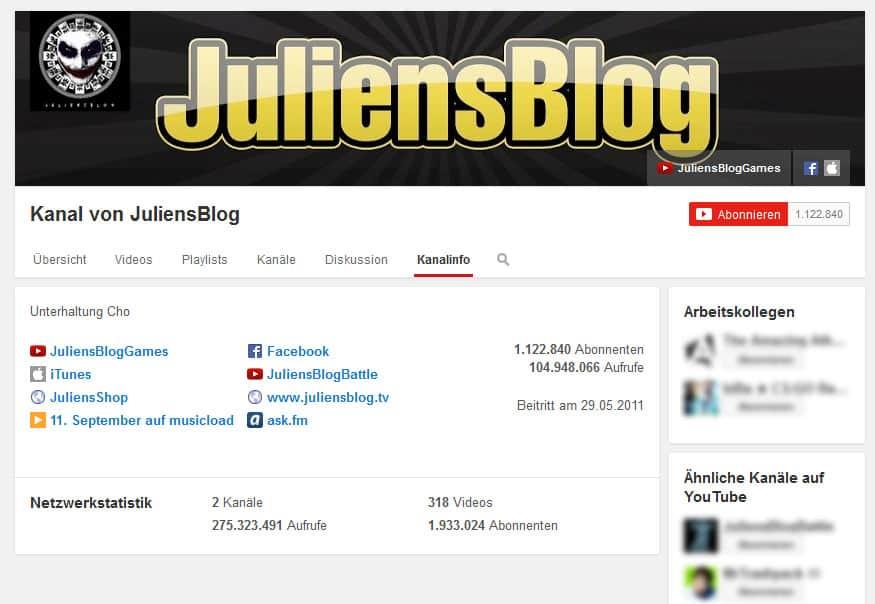 Mit YouTube Geld verdienen JuliensBlog