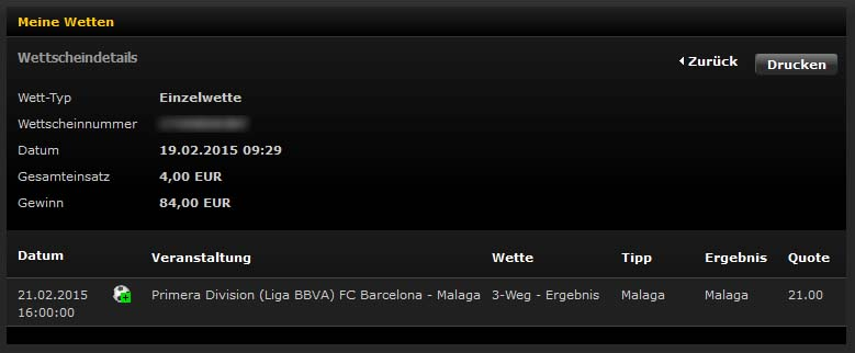 Quelle: Screenshot bwin.com