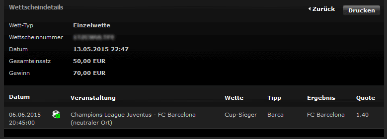 Quelle: Screenshot bwin.de