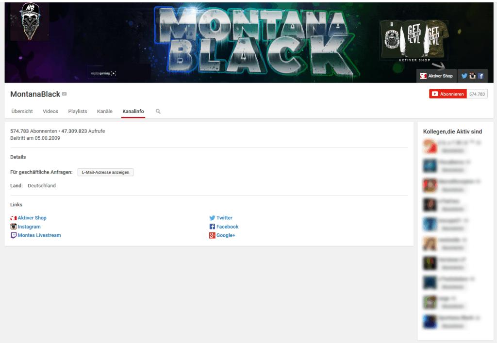 erfolg mit youtube montanablack