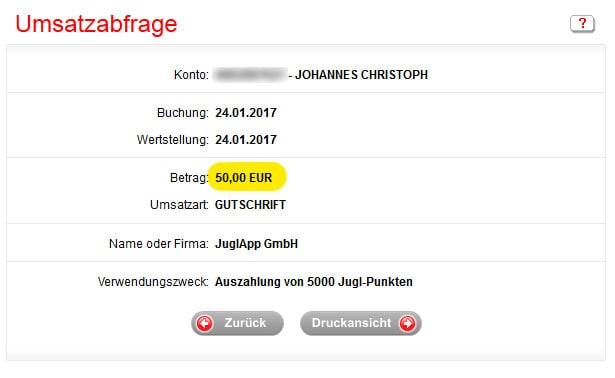 jugl-app-auszahlung