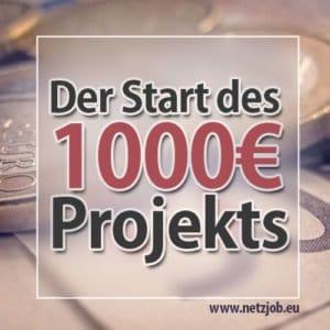 1000 euro projekt