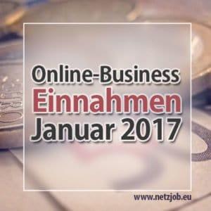 online business einnahmen januar 2017