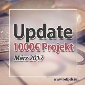 update 1000 euro projekt