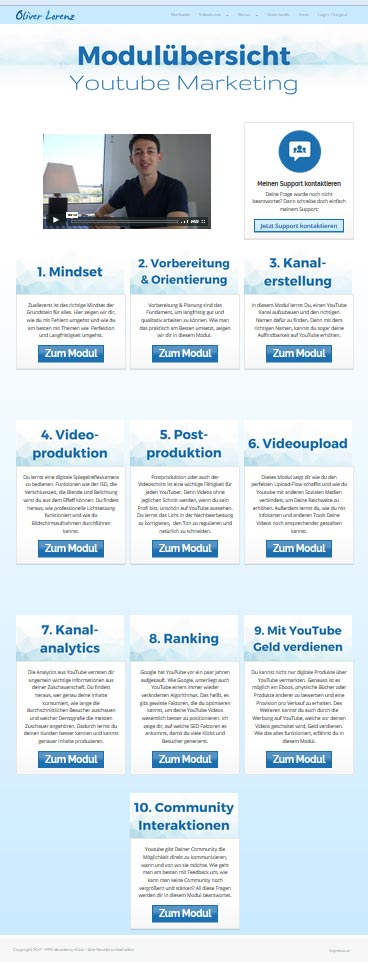 YouTube Marketing Masterplan Module