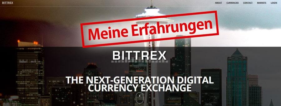 Bittrex Erfahrungen