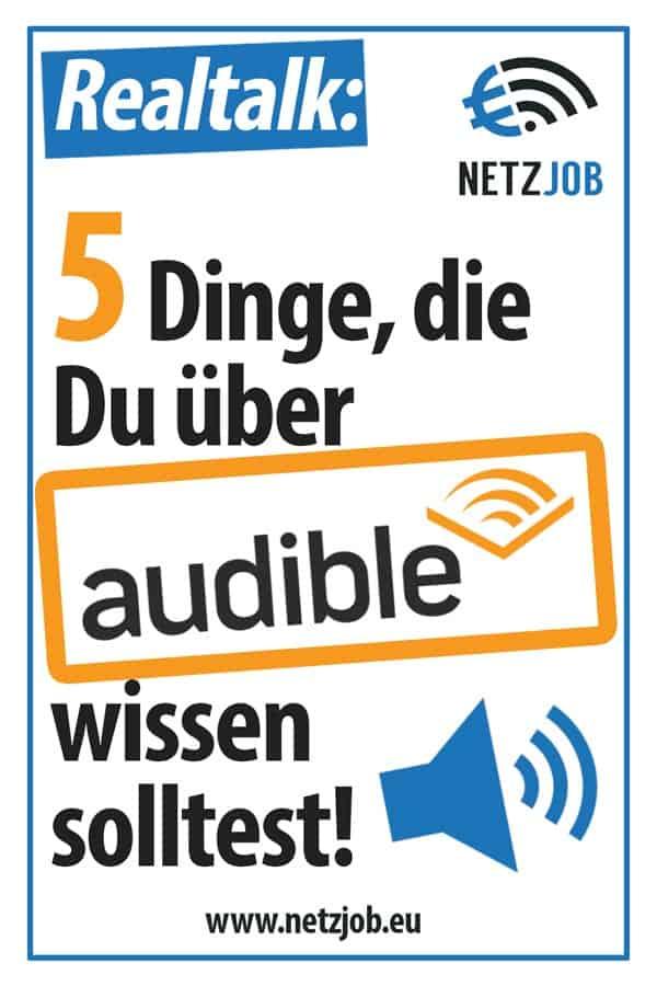 5 Dinge, die Du über audible wissen solltest