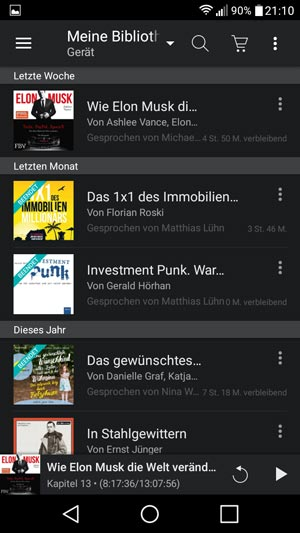 amazon audible app erfahrungen