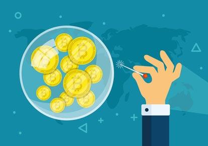 bitcoin-blase