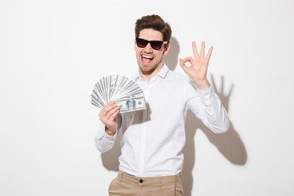 Fleiß oder Glück: Wie werde ich reich?