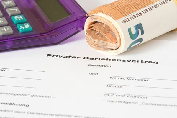 geld-leihen-vertrag