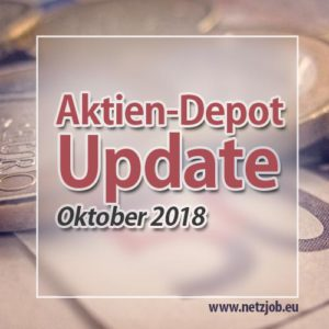 [-1.480€] Crash im Depot | Update Oktober 2018