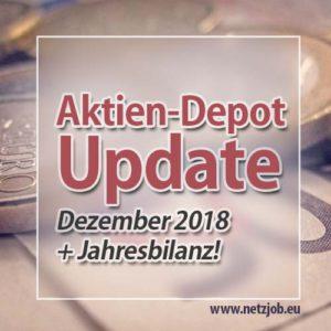 Depot-Update Dezember 2018 + Jahresrückblick