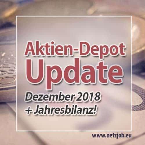 Die Leiden des jungen Aktionärs [Depot-Update + Jahresbilanz 2018]