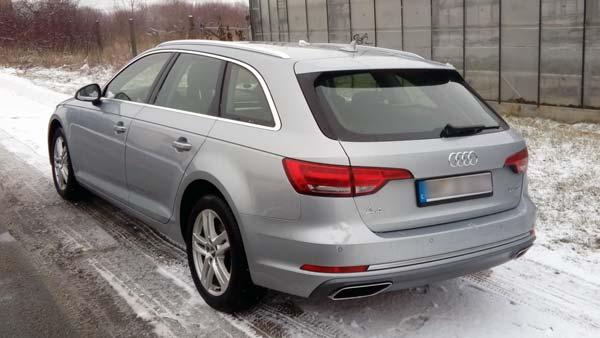 Audi A4 Avant von Europcar über Check24