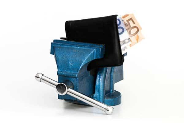 Anhaltender finanzieller Druck ist in der Selbstständigkeit ist ein großes Problem