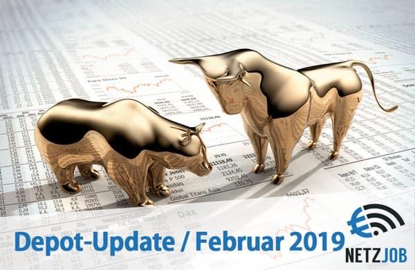 Aktien Depot Update Februar 2019