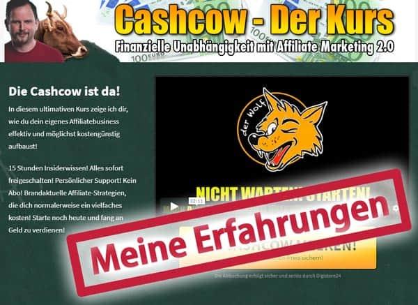 Testbericht: Cashcow – der Kurs von Wolfgang Mayr | Meine ehrlichen Erfahrungen