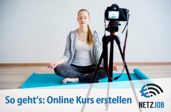 So geht's: Online Kurs erstellen