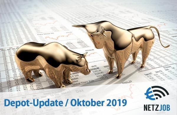 Aktien Depot Update Oktober 2019