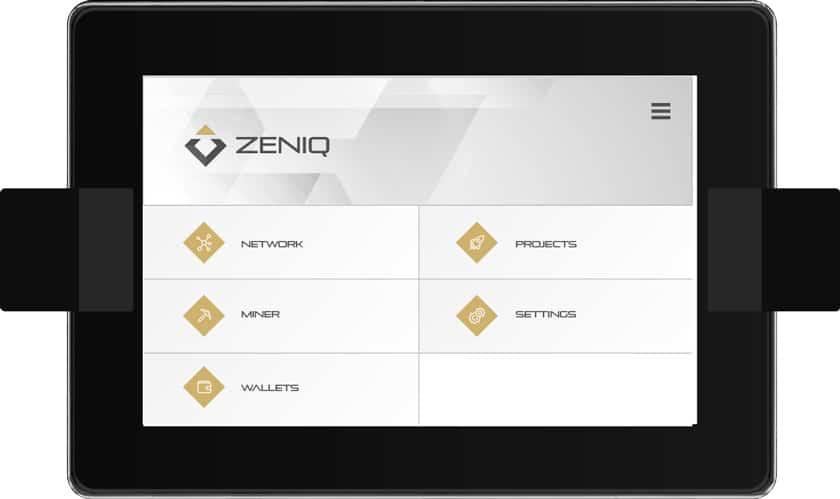 So wird der ZENIQ Hub aussehen