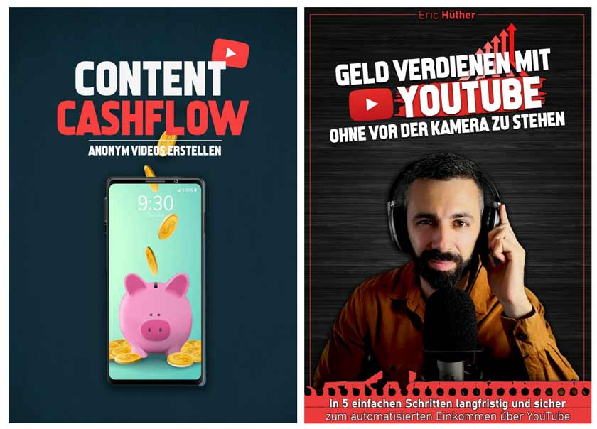YouTube Bankomat Bonus E-Books